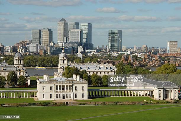 Greenwich und Canary Wharf