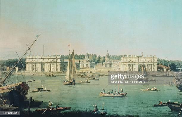 Greenwich Hospital in London England 18th century