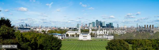 greenwich park and london panorama - 2017 stock pictures, royalty-free photos & images
