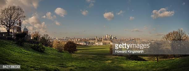 Greenwich Park panorama