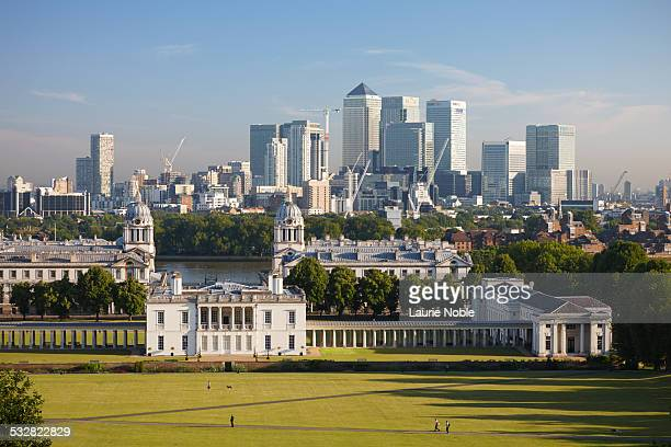 Greenwich Park to Canary Wharf, Greenwich