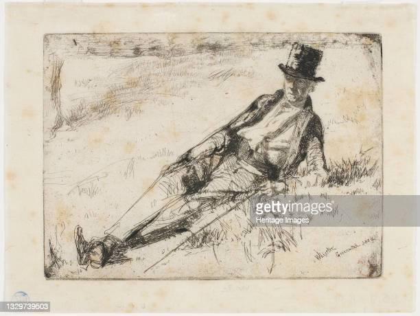 Greenwich Pensioner, 1859. Artist James Abbott McNeill Whistler.