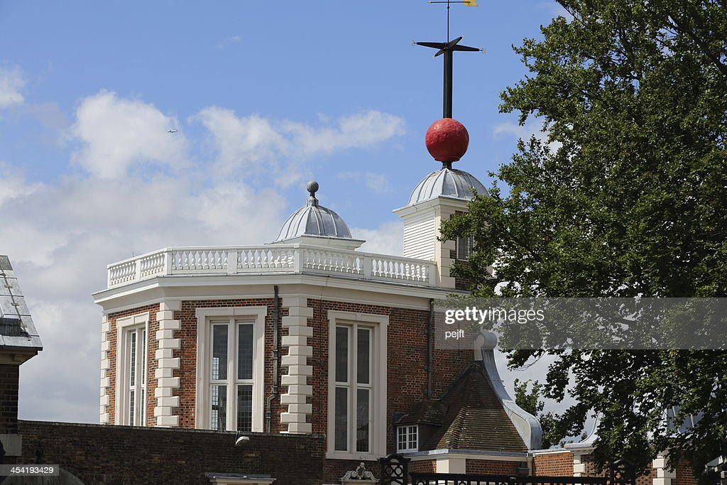 Greenwich Royal Observatory : Foto de stock