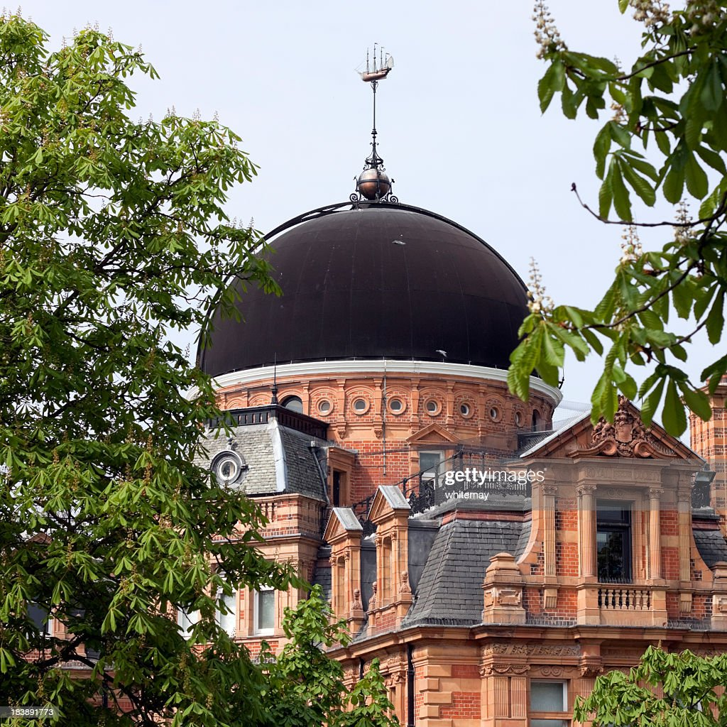 Greenwich Royal Observatory, South Building : Stock Photo