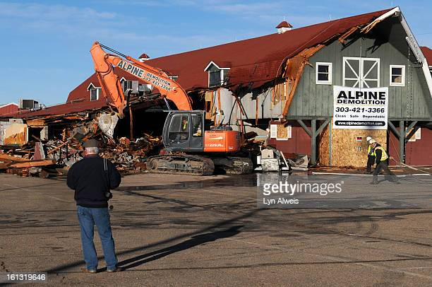 Greenwood Village COJanuary 18 2011Demolition of The Country Dinner Playhouse in Greenwood Village began on Jan 18 at 8 AM The landmark theater...