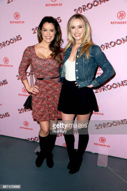 Greer Grammer and guest attend Refinery29 29Rooms Los Angeles Turn It Into Art Opening Night Party at ROW DTLA on December 6 2017 in Los Angeles...