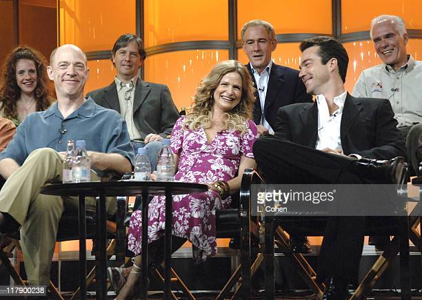 Greer Shephard executive producer JK Simmons Michael M Robin executive producer Kyra Sedgwick James Duff executive producer Jon Tenney and Gil...
