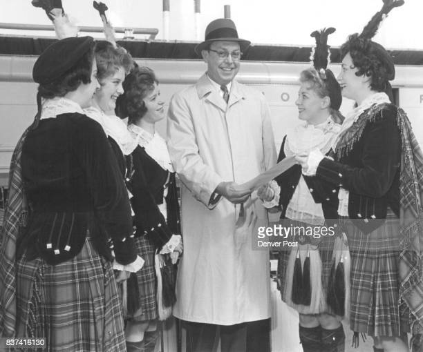 Greetings From Scotland Matthew Eales George Kelly Will F Nicholson The Girls left to right Pearl Bazley Christine Walduck Rita Easteal Margaret...