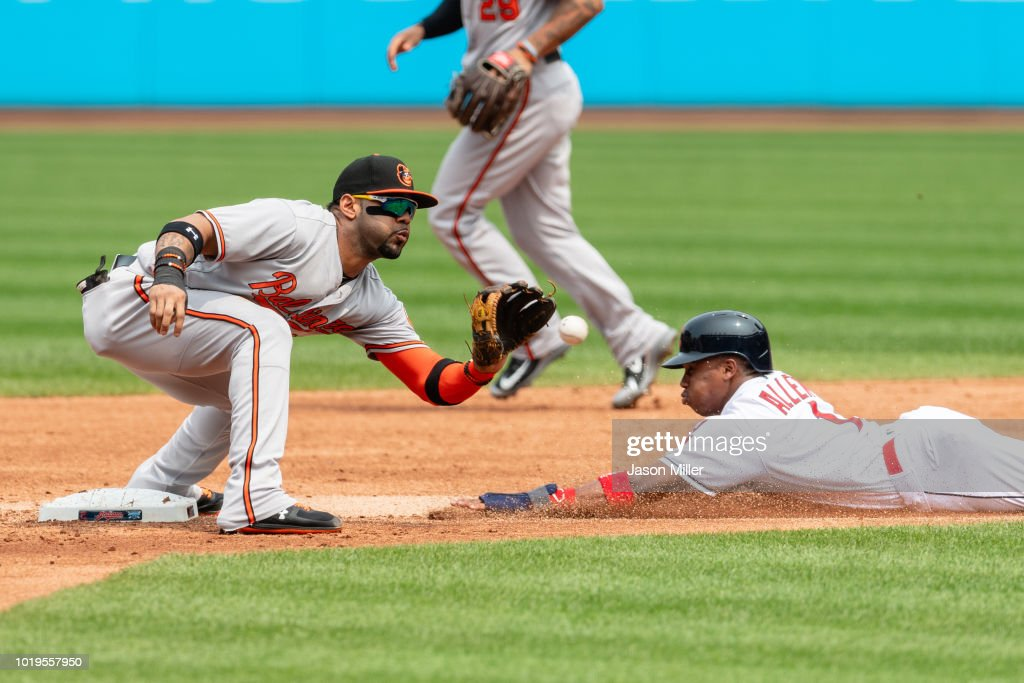 Baltimore Orioles v Cleveland Indians : News Photo