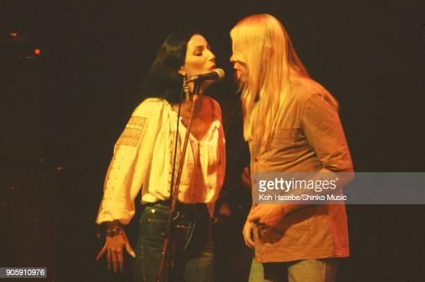 Greg Allman Band live at Nippon Budokan June 29 Tokyo Japan Greg Allman Cher