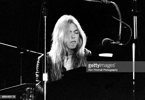 Greg Allman performs with the Greg Allman Band at the Boston Music Hall April 8 1974