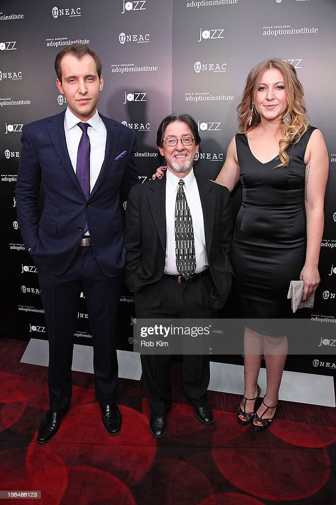 Greg Ammon, Adam Pertman, executive director Adoption Institute and Alexa Ammon attend '59 Middle Lane' New York Benefit Screening at Jazz at Lincoln Center on November 15, 2012 in New York City.