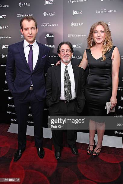 Greg Ammon Adam Pertman executive director Adoption Institute and Alexa Ammon attend 59 Middle Lane New York Benefit Screening at Jazz at Lincoln...