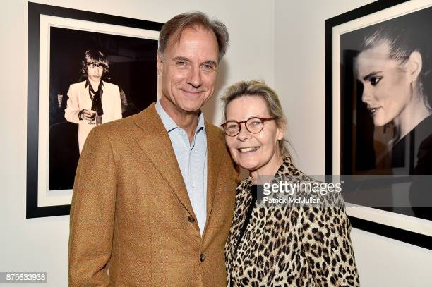 Greg Arnold and Mona Arnold attend Edelman Arts The Infamous Rose Hartman at Edelman Arts on November 17 2017 in New York City