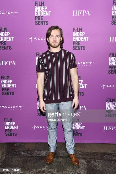 """Greg Austin at Film Independent Screening Series Presents """"Hunters"""" at ArcLight Culver City on February 20, 2020 in Culver City, California."""