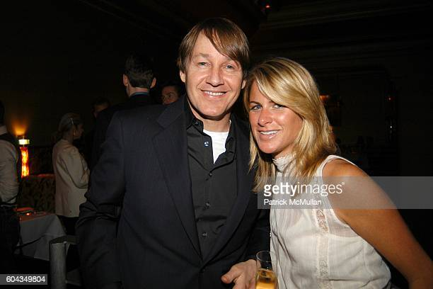 Greg Baumer and Alexandra Tyndall attend Equinox and Champagne Perrier Jouet Toast Patrick McMullan in Honor of His New Book KISS KISS at Bix...
