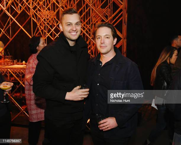 Greg Beauchamp and Beck Bennett attend the 2019 Tribeca Film Festival AfterParty for Plus One hosted by Bulleit Bourbon at the Bulleit 3D Printed at...