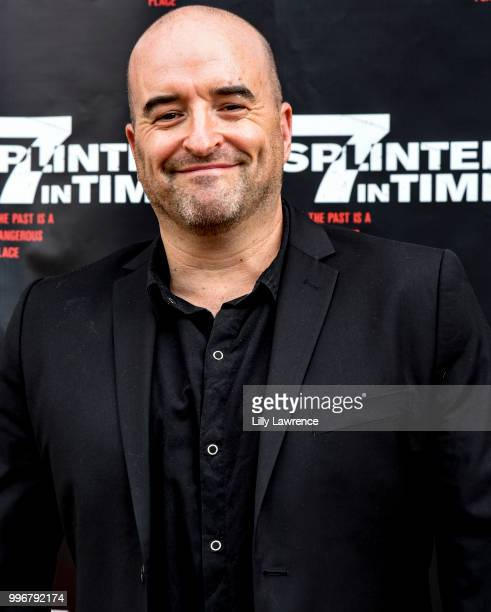 Greg Bennick arrives at the '7 Splinters In Time' Premiere at Laemmle Music Hall on July 11 2018 in Beverly Hills California