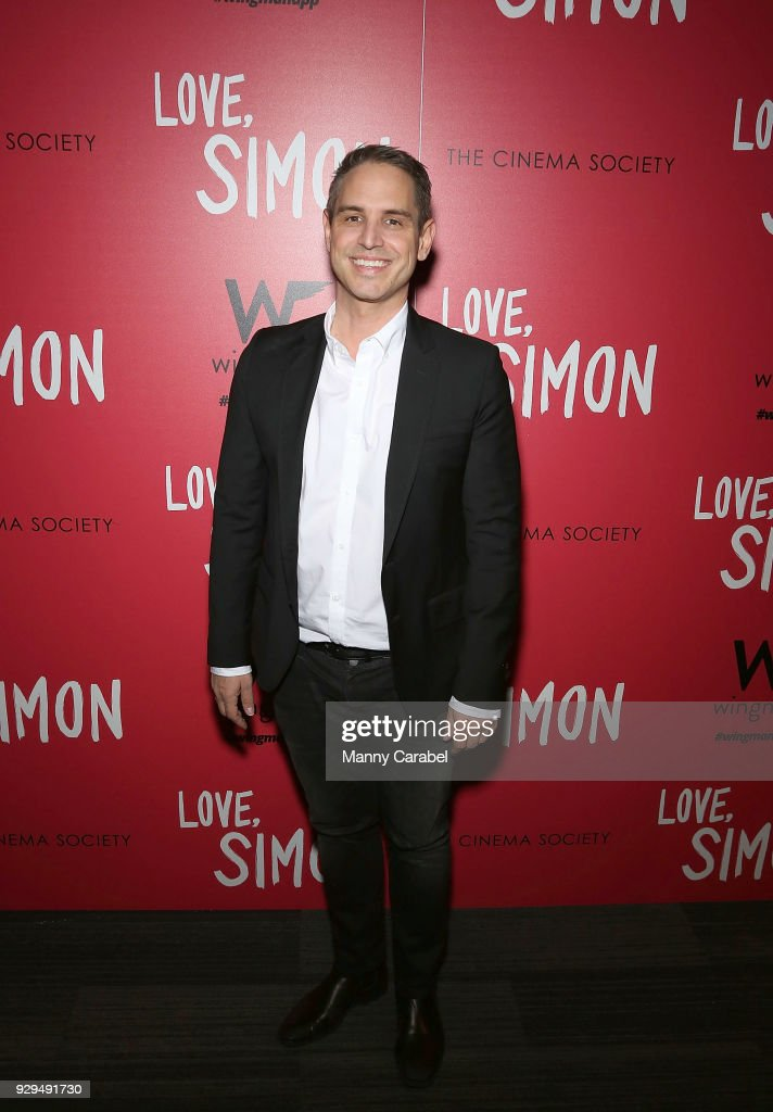 Greg Berlanti attends 20th Century Fox & Wingman host a NYC screening of 'Love,Simon' at Landmark Theatre on March 8, 2018 in New York City.