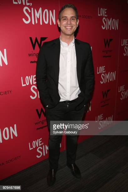 Greg Berlanti attends 20th Century Fox Wingman host a screening of 'Love Simon' on March 8 2018 in New York City