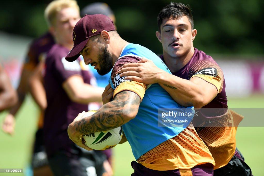 AUS: Brisbane Broncos Training Session