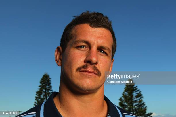 Greg Bird of the Blues poses for a portrait during a New South Wales Blues State of Origin media session at Crown Plaza Coogee on May 18 2011 in...