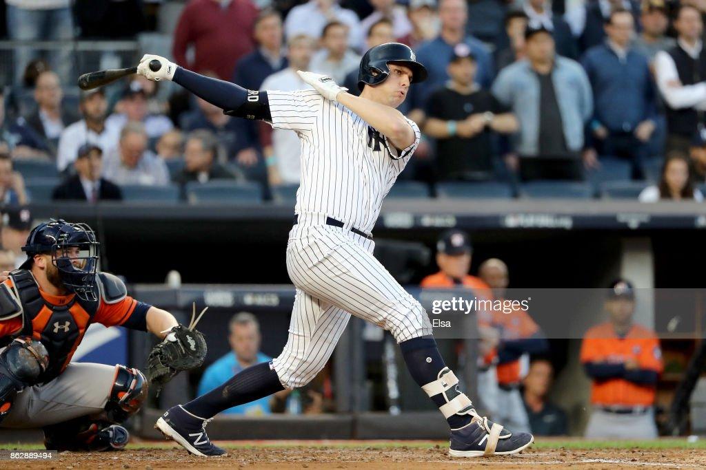 League Championship Series - Houston Astros v New York Yankees - Game Five : News Photo