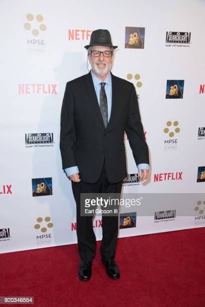 Greg Brown attends the 65th Annual Motion Picture Sound Editors Golden Reel Awards on February 18 2018 in Los Angeles California