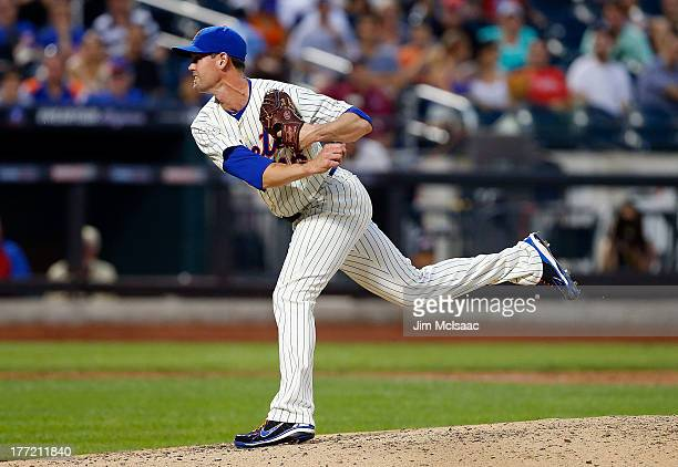 Greg Burke of the New York Mets in action against the Philadelphia Phillies at Citi Field on July 19 2013 in the Flushing neighborhood of the Queens...