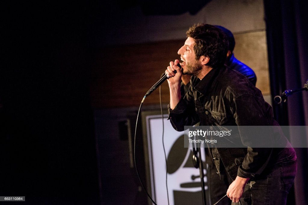Greg Cahn of Breaking Heights performs during The Music Behind 'Sun Records' at The GRAMMY Museum on March 13, 2017 in Los Angeles, California.
