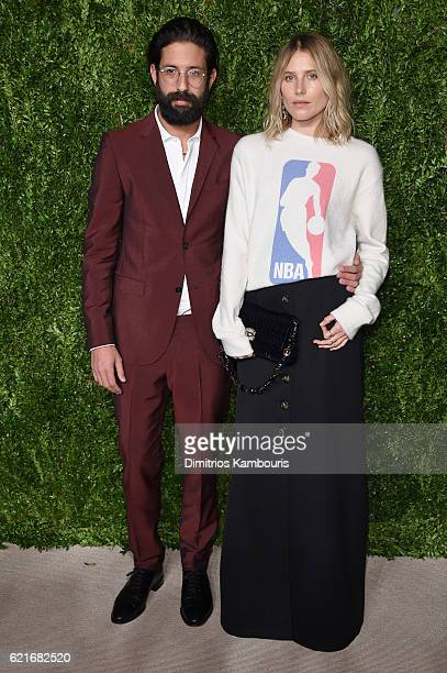 Greg Chait and Dree Hemingway attend 13th Annual CFDA/Vogue Fashion Fund Awards at Spring Studios on November 7 2016 in New York City