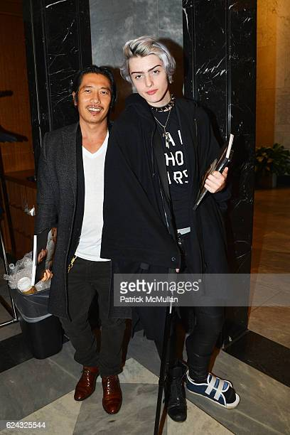 Greg Chan and Castle MacArthur attend the HBO Documentary Films New York Premiere of 'The Trans List' at The Paley Center for Media on November 17...