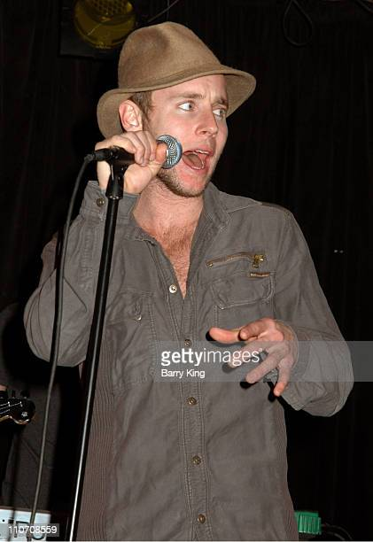 Greg Cipes of Cipes and The People during Cipes and The People Perform at The Viper Room February 14 2007 at The Viper Room in West Hollywood CA...