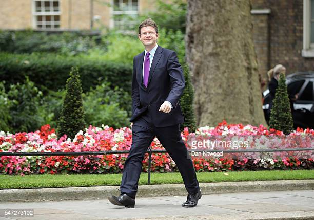 Greg Clark arrives at 10 Downing Street as Prime Minister Theresa May appoints her cabinet on July 14 2016 in London England The UK's New Prime...