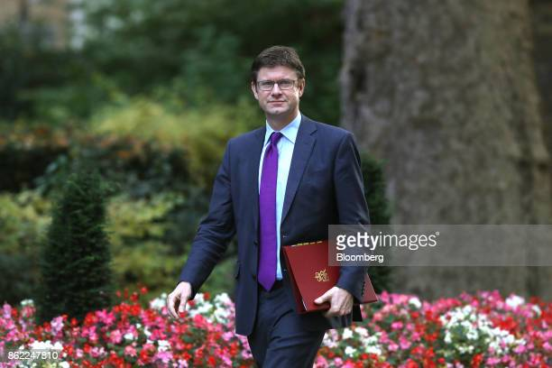 Greg Clark UK business secretary arrives for a cabinet meeting at number 10 Downing Street in London UK on Tuesday Oct 17 2017 UK Prime...
