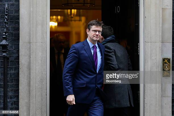 Greg Clark UK business secretary leaves following a weekly cabinet meeting at 10 Downing Street in London UK on Tuesday Jan 31 2017 Theresa May's...