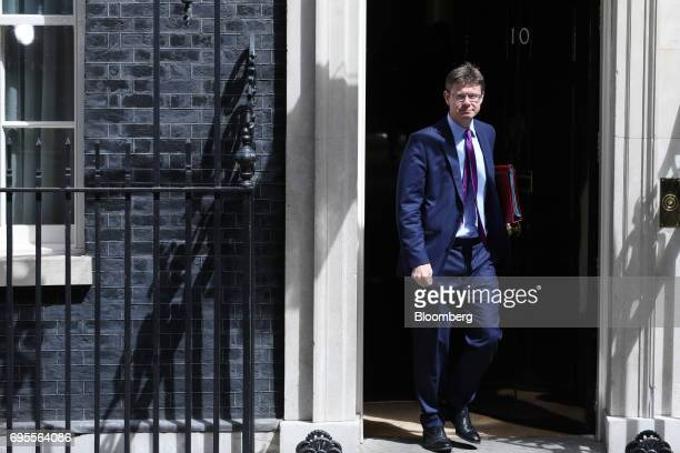Greg Clark UK business secretary leaves number 10 Downing Street following a meeting of cabinet ministers in London UK on Tuesday June 13 2017 UK...