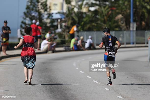 Greg Close during the Standard Bank Ironman South Africa at Nelson Mandela Bay Stadium on April 10 2016 in Port Elizabeth South Africa