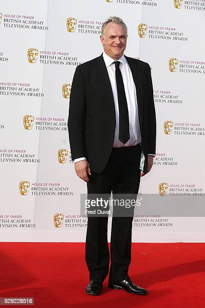 Greg Davies arrives for the House Of Fraser British Academy Television Awards 2016 at the Royal Festival Hall on May 8 2016 in London England