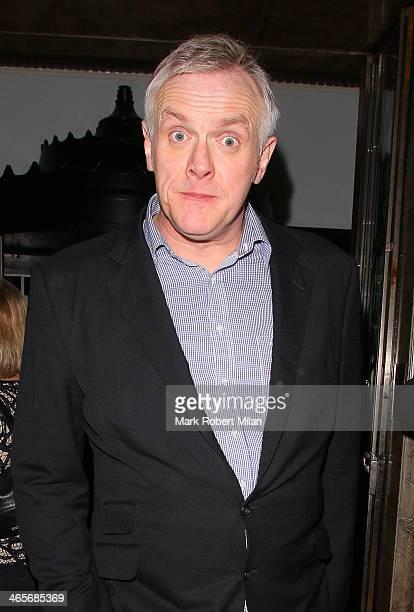 Greg Davies at Claridges hotel ballroom on January 28 2014 in London England