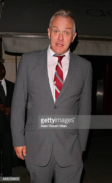 Greg Davies attending the Inbetweeners 2 aftershow party at Aqua on August 5 2014 in London England