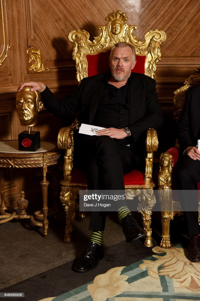 Greg Davies attends the UKTV Live 2017 photocall at Claridges Hotel on September 13, 2017 in London, England. Broadcaster announces it's programs for the forthcoming season.