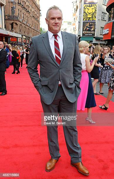 Greg Davies attends the World Premiere of 'The Inbetweeners 2' at Vue West End on August 5 2014 in London England