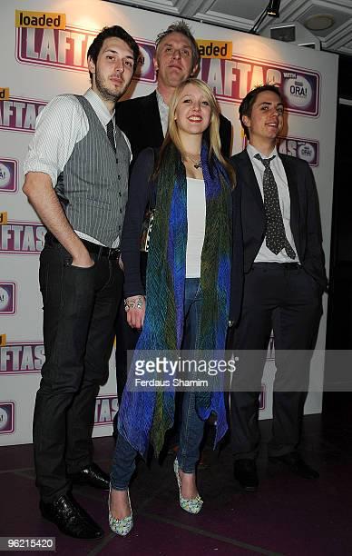 Greg Davis James Buckley Emily Head and Blake Harrison attend the Loaded LAFTA Awards on January 27 2010 in London England