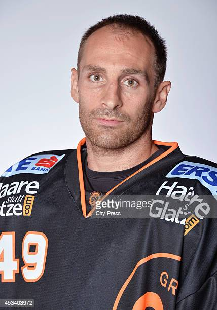 Greg Day during a test game in Straubing Germany