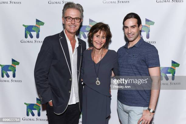 Greg Dicks Lee Fryd and Jake Helgenberg attend Elizabeth Shafiroff and Lindsey Spielfogal Host the First Annual Global Strays Fund Raising Party at...