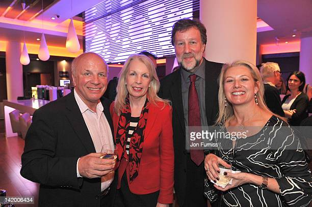 Greg Dyke Amanda Neville and guests attend the VIP screening of 'Salmon Fishing in Yemen' at Odeon Whiteleys on March 28 2012 in London England