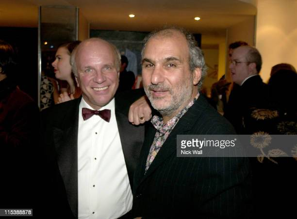 Greg Dyke and Alan Yentob during The Times BFI London Film Festival 2003 Closing Gala Night and AfterParty for Sylvia at Mezzo in London United...