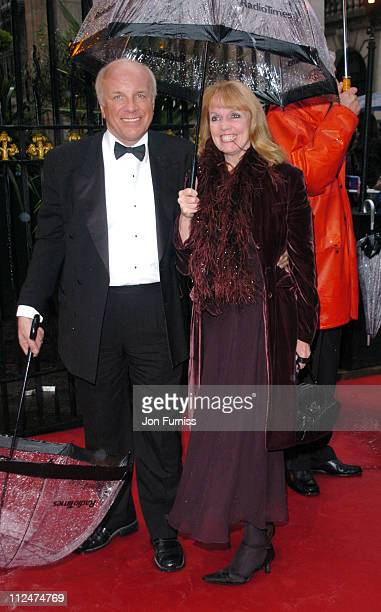 Greg Dyke and guest during 50th Annual BAFTA Television Awards Outside Arrivals at Grosvenor House in London United Kingdom