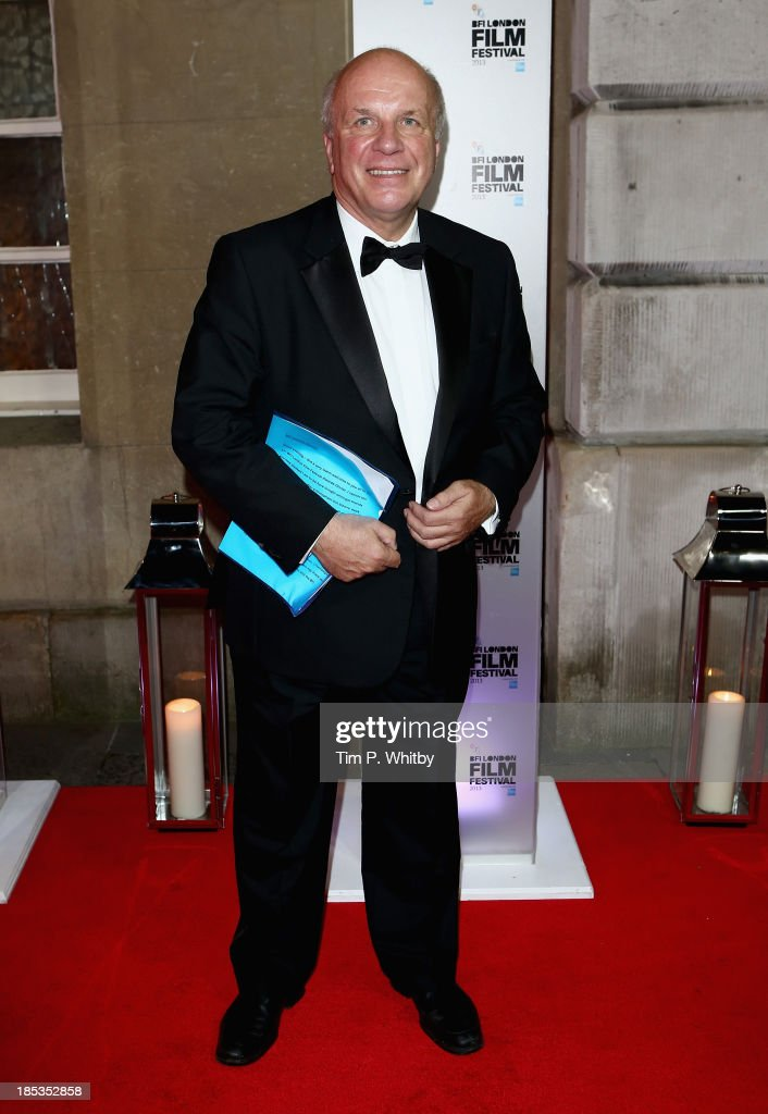 Greg Dyke attends the BFI London Film Festival Awards during the 57th BFI London Film Festival at Banqueting House on October 19, 2013 in London, England.